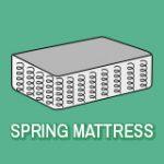 Spring mattress icon