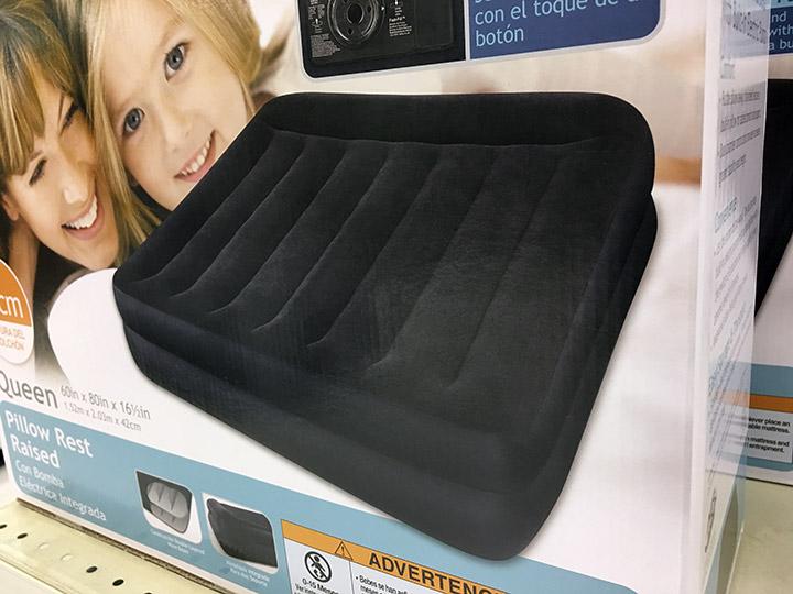 New air mattress in a box