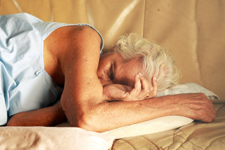 The amount of sleep depends on age