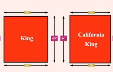 King vs cali king size